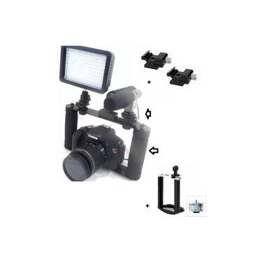 Estabilizador Cage Gaiola Dslr Suporte Canon Nikon
