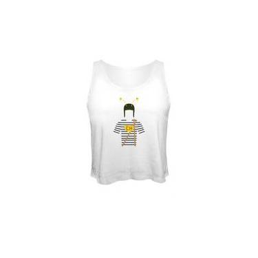 Camiseta Cropped Chaves Chapolin