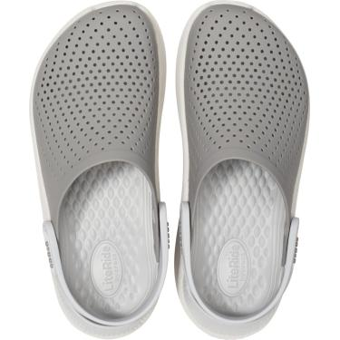 Sandália Crocs Literide Clog Cinza  unissex