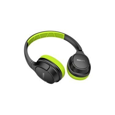 Imagem de Fone de Ouvido Philips TASH402 Bluetooth Sport com Microfone IPX4 Resistente ao Suor com até 20 horas de bateria - Verde