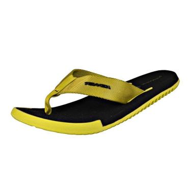 Sandália Kenner Kick.S High Light Amarelo/Preto Preto  masculino