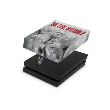 Capa Anti Poeira para PS4 Fat - The Evil Within 2