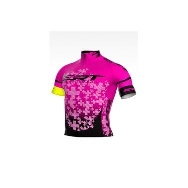 Camisa Ciclismo MTB Bike Speed ERT Elite Team Rosa 2020