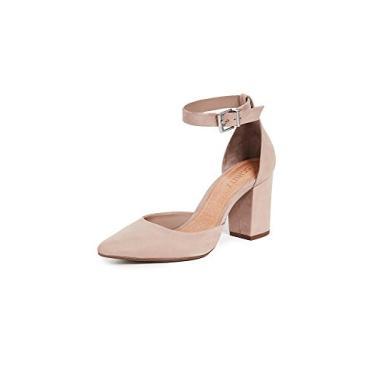 SCHUTZ Sapato feminino com tira no tornozelo Ionara, Neutro, 6