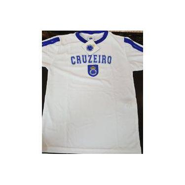 Camisa Infantil Cruzeiro Branca