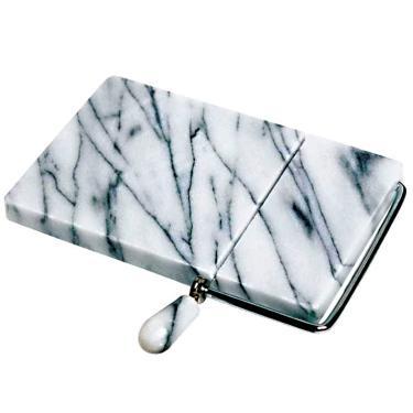 Imagem de Fatiador De Queijo Em Mármore Branco Manual - Corte A Fio