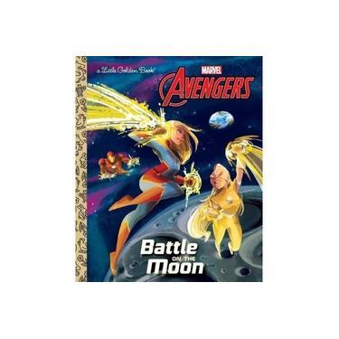 Battle on the Moon (Marvel Avengers) (Little Golden Book)