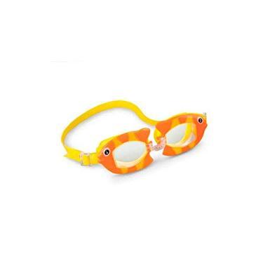 Óculos de Natação Play Bichinhos Animados Peixe - Intex