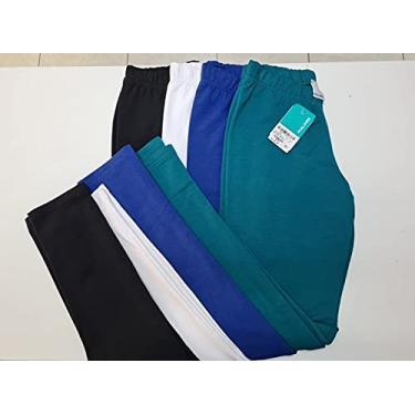 Imagem de Calça Legging Feminina com Flanela Interna Malwee 26301.(A Peça) Tamanho:P;Cor:Branco
