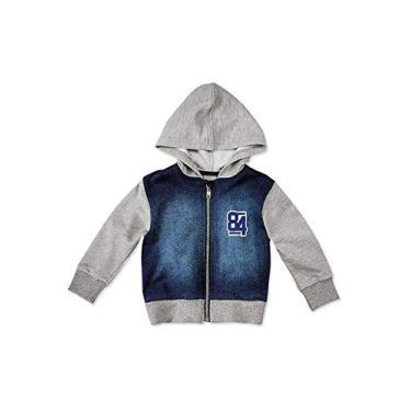 Jaqueta Infantil Hering Kids Moletom Jeans C31pjelus 65c0caf44fa