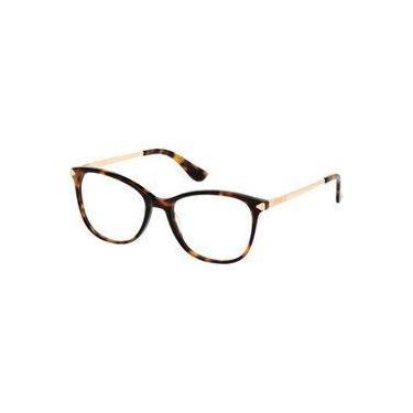 8f9bc4164002d Armação e Óculos de Grau Guess