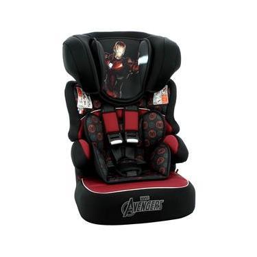 Cadeira Para Automóvel Team Tex Marvel Homem de Ferro - 09 a 36kg - Preta