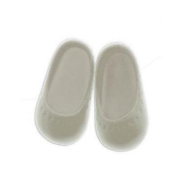 Sapato para Boneca - Modelo Sapatilha 6cm - Calça Bonecas tipo Baby Alive - Laço de Fita