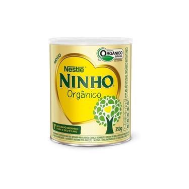 Leite Ninho Orgânico Instantâneo Nestlé 350g