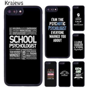 Krajews impressionante psicólogo profissão psicologia caso telefone para iphone se 6s 7 8 plus x xr