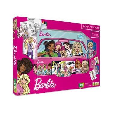 Imagem de Jogo De Cartas Barbie Box De Atividades Copag