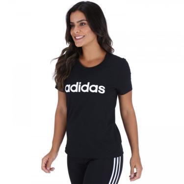Camiseta adidas Essentials Linear Slim - Feminina adidas Feminino