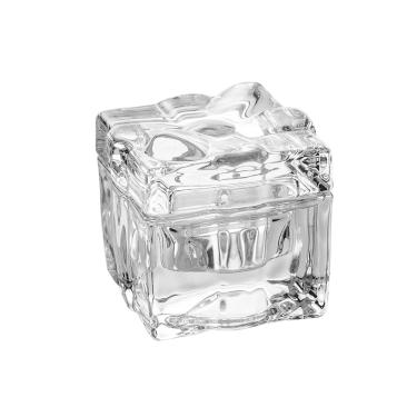 Bomboniere em vidro Bon Gourmet Aline 9x9cm