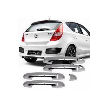 Imagem de Kit Aplique Cromado Maçaneta Hyundai I30 2009 2010 2011 2012