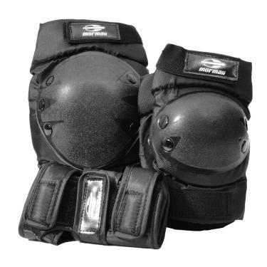 Kit Proteção Skate Mormaii M