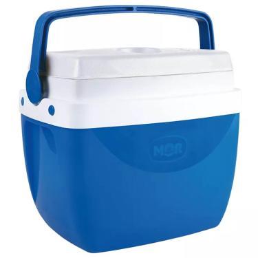 Imagem de Caixa Térmica 12 Litros Azul com Alça Mor 1026454