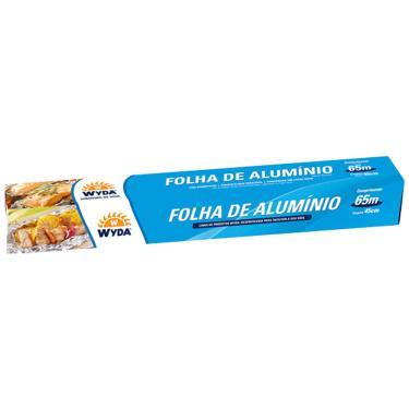 Papel Alumínio 65mx45cm Wyda 1002593