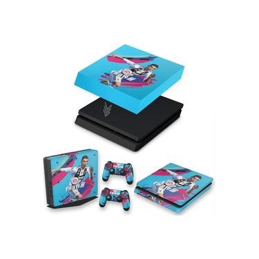 Capa Anti Poeira e Skin para PS4 Slim - Fifa 19