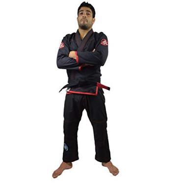 Kimono Jiu Jitsu Feminino Keiko Sports Mulheres A1 Preto