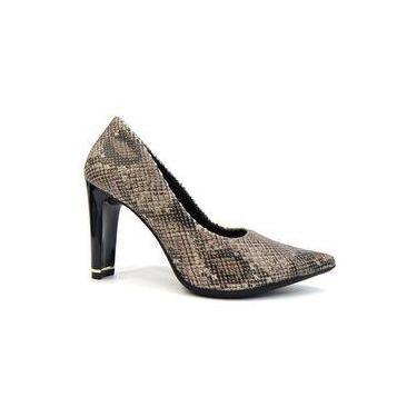 Sapato Feminino Conforto 749001 - Piccadilly (07) - Cobra