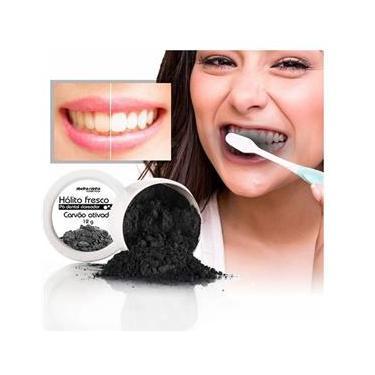 Imagem de  Pó Dental Clareador Carvão Ativo- Abelha Rainha