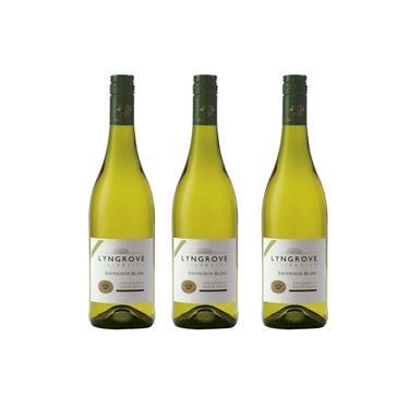 Kit 3x Vinho Branco Sul-Africano Lyngrove Collection Sauvignon Blanc 2020