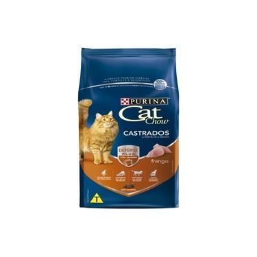 Ração Nestlé Purina Cat Chow para Gatos Castrados sabor Frango - 10,1kg