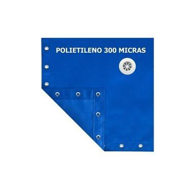Imagem de Lona Capa Proteção De Piscina Prática SL300 + Dreno 8,5x4,5