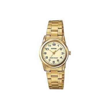 90257ca1d56 Relógio Casio Collection Analógico Feminino Ltp-V001g-9budf