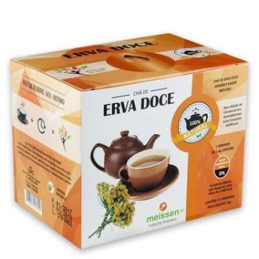 Chá de Erva Doce 15 Sachês 1,4g - Meissen