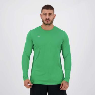 Camisa Penalty Matís 2 IX UV Manga Longa Verde - GG