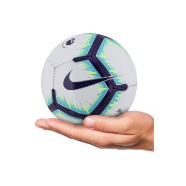 Minibola de Futebol de Campo Nike Premier League - BRANCO ROXO Nike 681d66a89a024
