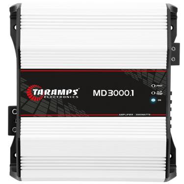 Módulo Taramps Md 3000.1 3000w RMS Amplificador Automotivo Módulo Taramps Md 3000.1 2 Ohms 3000w Amplificador Automotivo