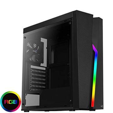 Gabinete Gamer Mid Tower RGB BOLT, Aerocool, Acessórios para Computador