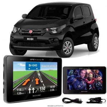 Navegador Gps Automotivo FIAT MOBI Tela 4,3 Touch Voz C/TV FM Oferta