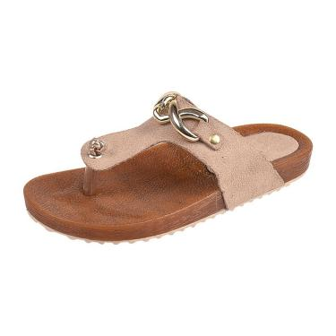 Sandália Raniel Calçados Birken ABS Taupe  menina
