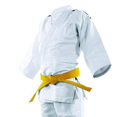 "ADIDAS Judo Uniform ""CLUB"" Sem Cinta Branco/Preto 190"