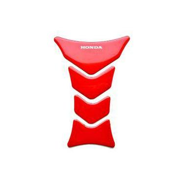Adesivo Protetor Tanque Moto Honda Cb 250 Twister Vermelho