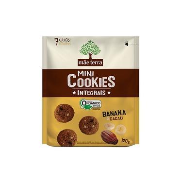 Cookies Orgânicos Banana E Cacau Mãe Terra 120g