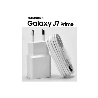 Carregador Samsung Galaxy J2 J5 J7 J2 Prime J2 J5 J7 Pro Branco (V8)