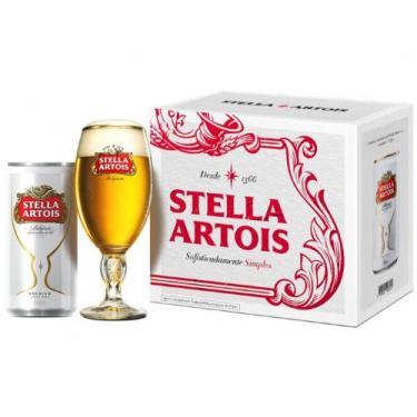 Kit Cerveja Stella Artois American Standard Lager - 269ml Cada 8 Unida