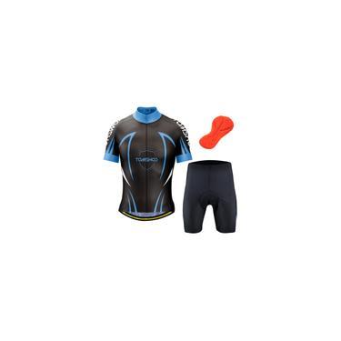 Imagem de Tomshoo Conjunto de roupa de ciclismo masculino