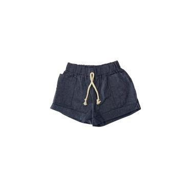 Short c/bolso Infantil Menina - Costão