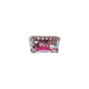 Imagem de Brinquedo Kit Cupcake E Cafeteria Rosa Com Luz 43768 Toyng