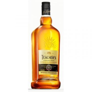 Whisky Teacher's Highland Cream Escocês 1 Litro - Teachers